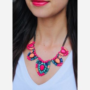 ::S&D Colorfully Vibrant Frida Statement Necklace